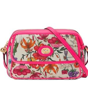 NWT+Receipt~GUCCI Small Flora Ophidia Shoulder Bag